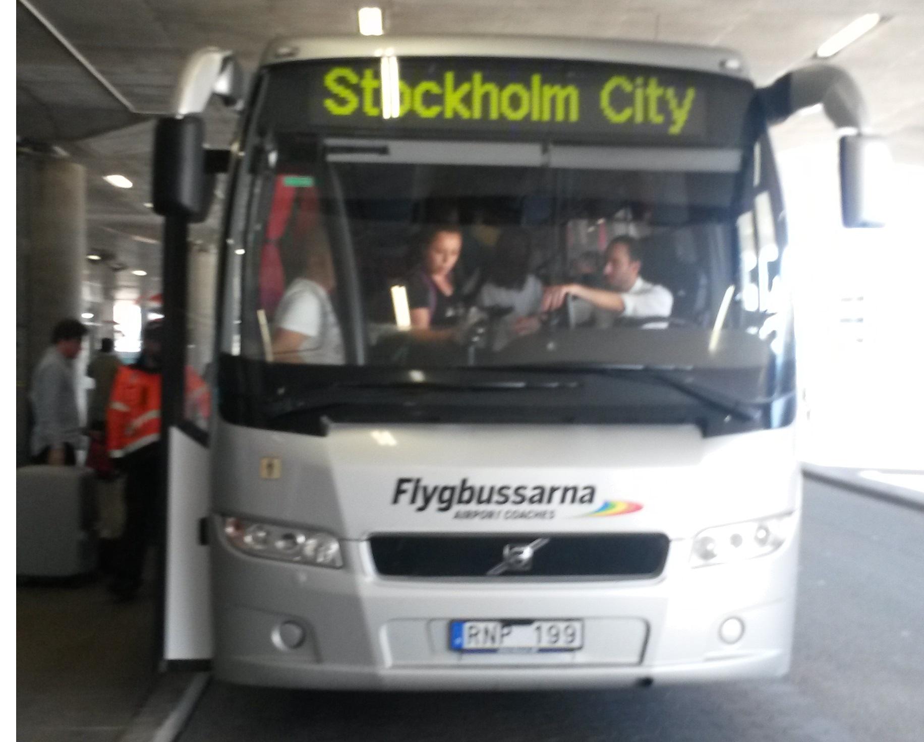 Flygbussarna, Arlanda-Stockholm servisi