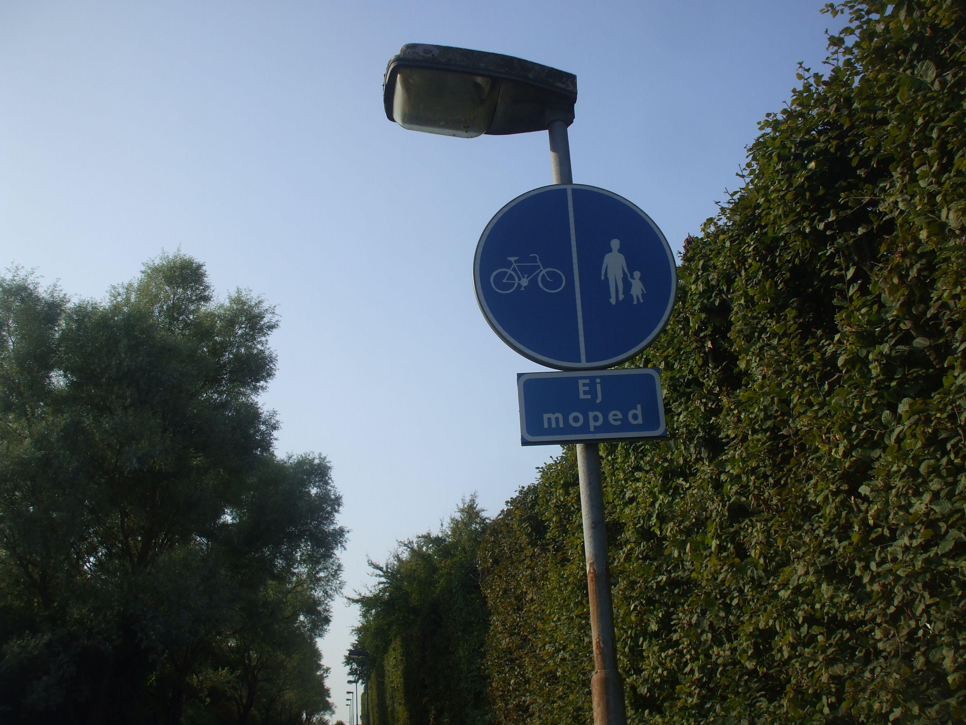 Bisiklet-Yaya yolu, Malmö