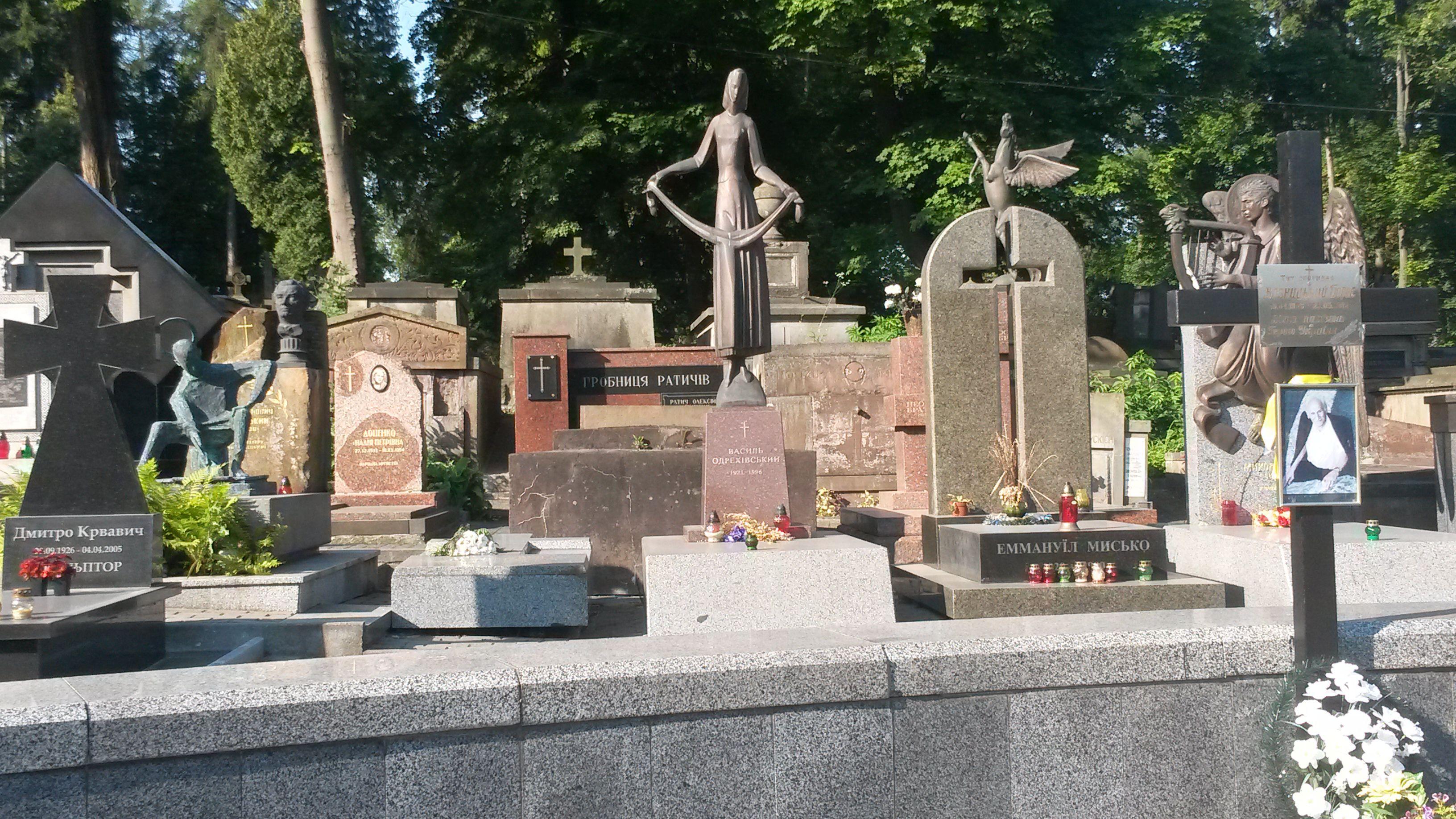 Lviv Lychakiv Mezarlığı