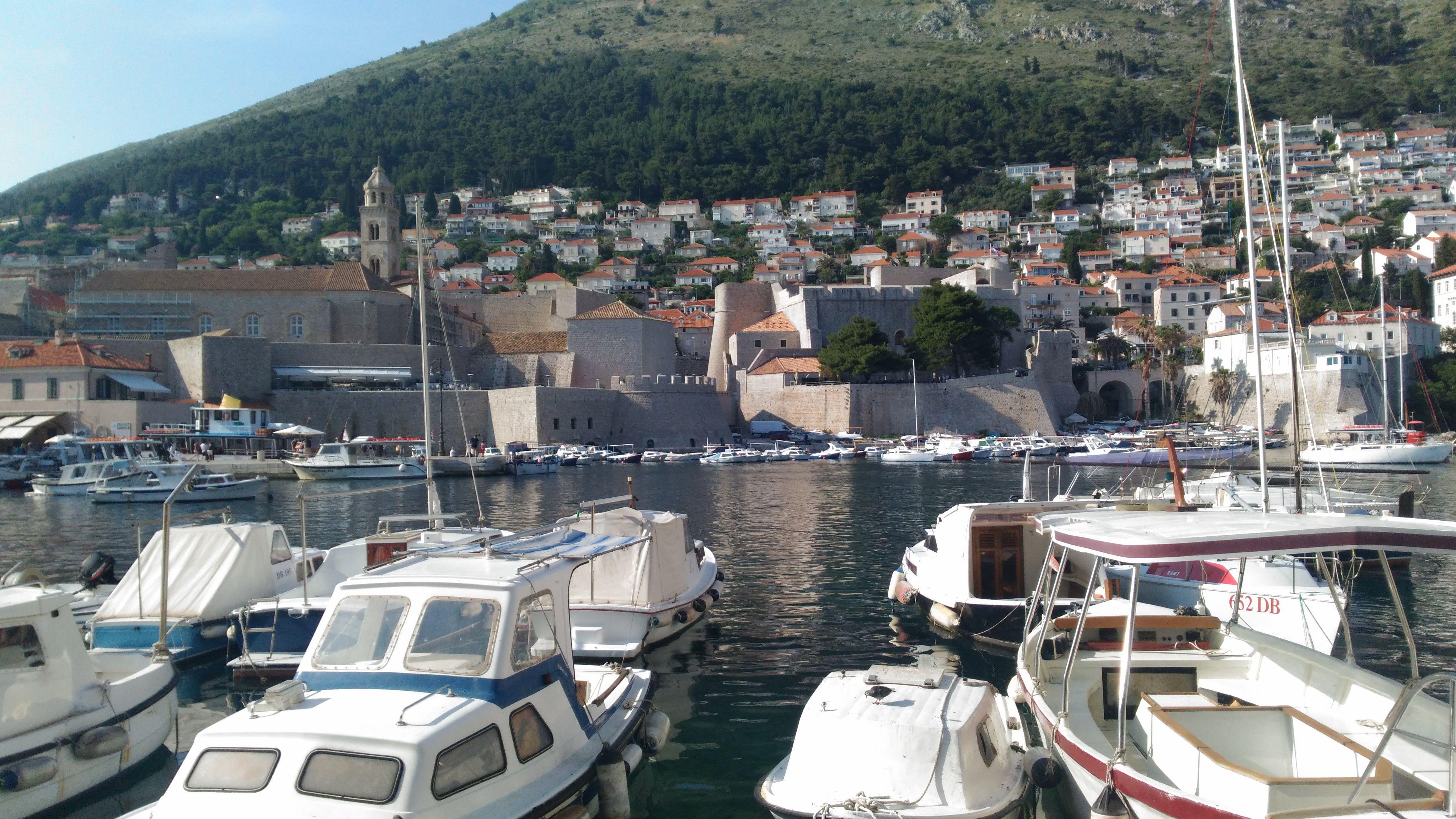 Dubrovnik'ten Tepeye Doğru Bakış