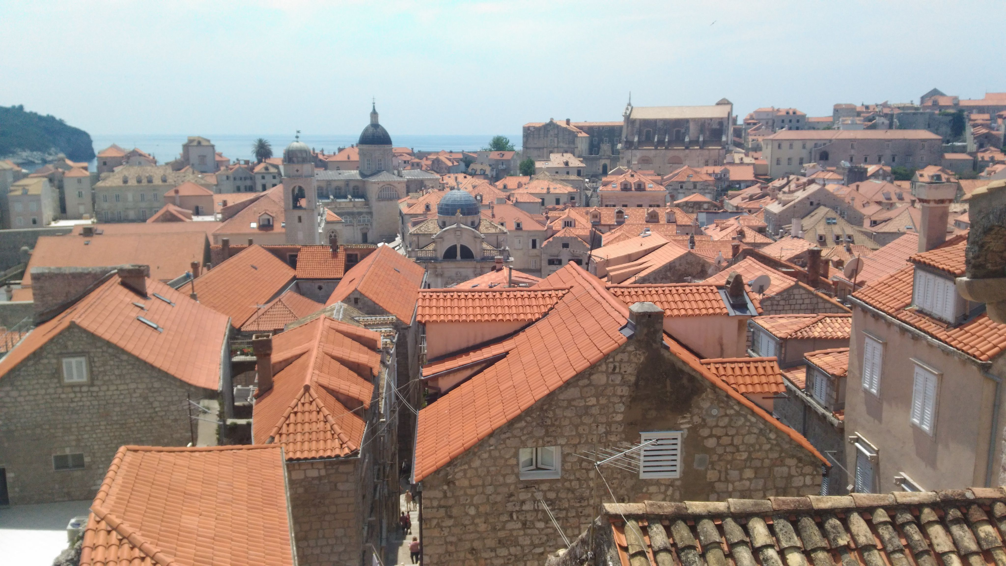 Dubrovnik, Stari Grad'dan bir başka manzara