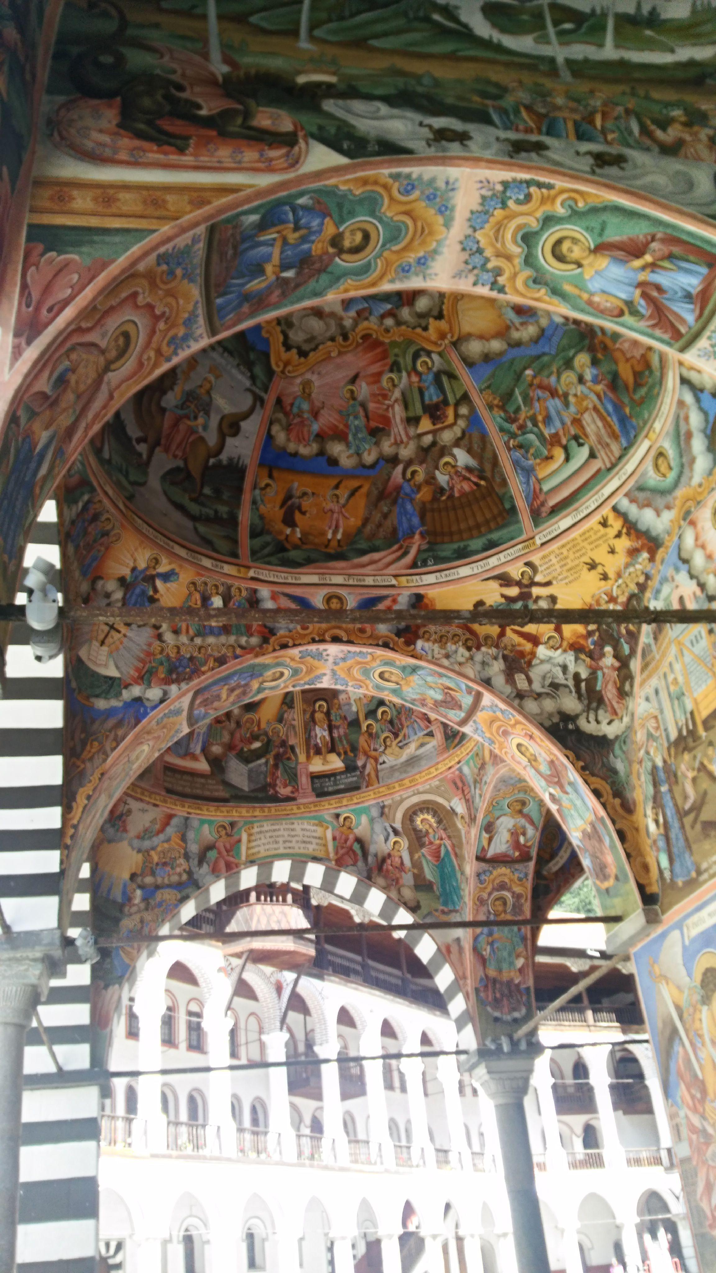 Rilski Manastırı Tavan Süslemeleri