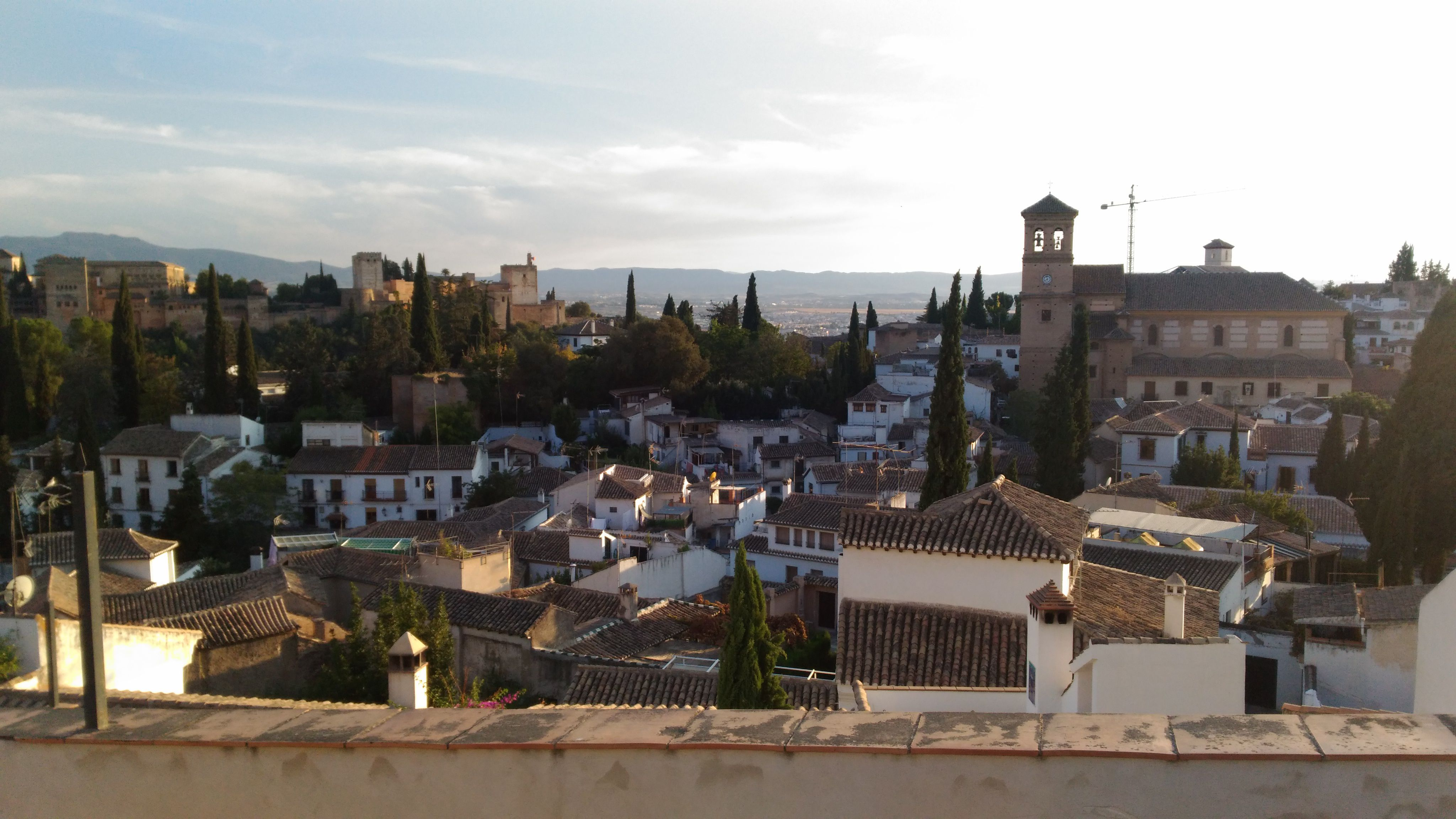 Granada'dan bir başka manzara