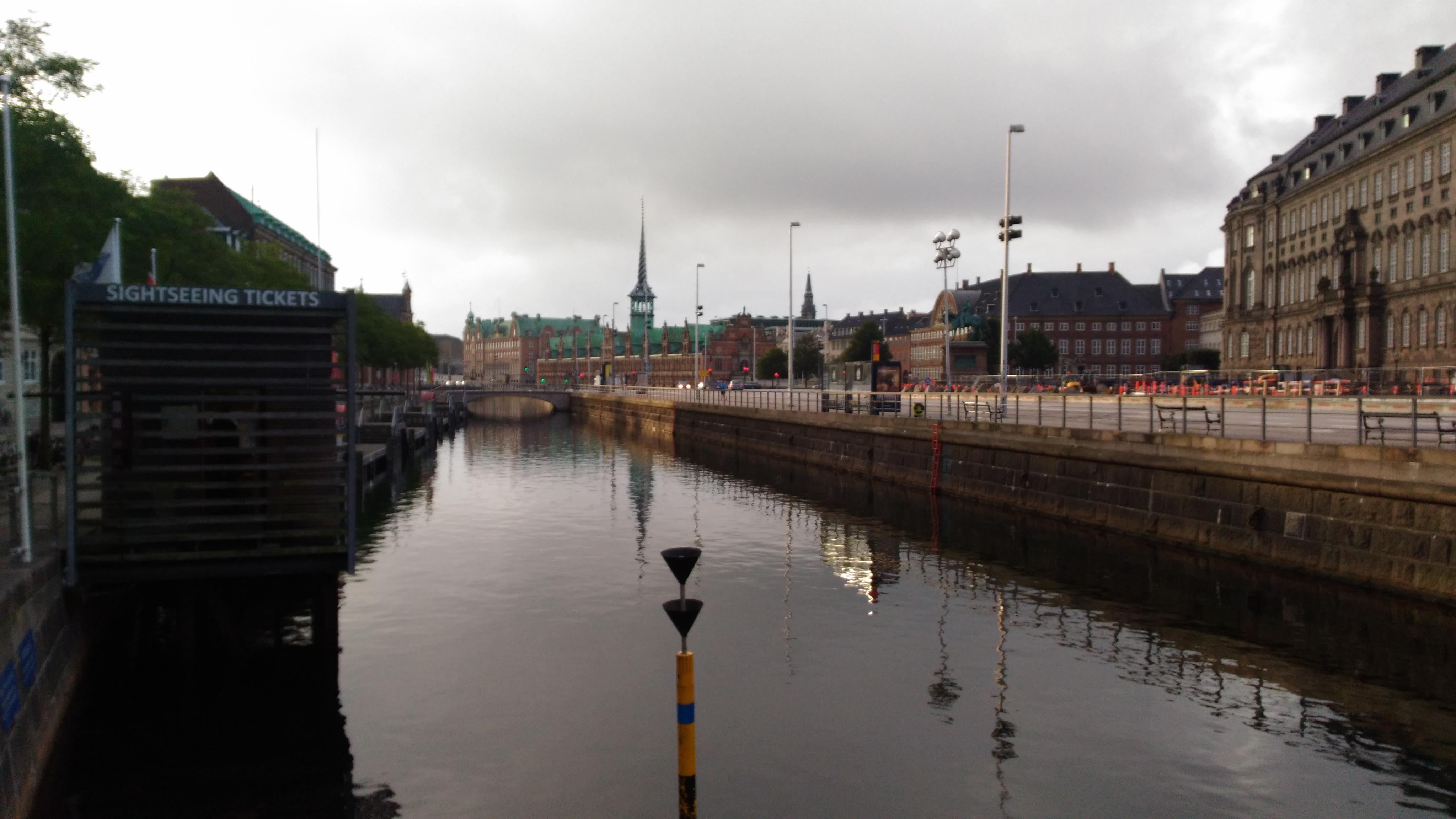 Kopenhag manzarası