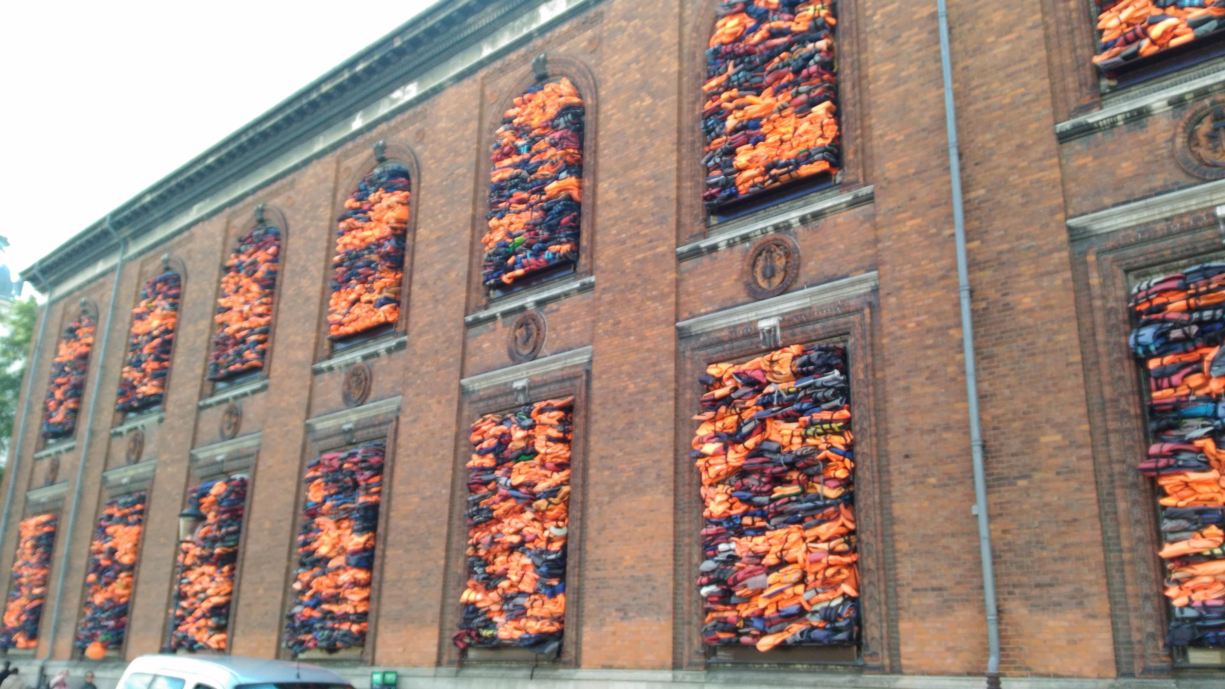 Soleil Levant (Ai Weiwei), Charlottenburg, Kopenhag